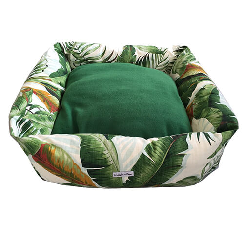 Jungle Fever, Dog Bed, NZ Made, Bespoke, Petware