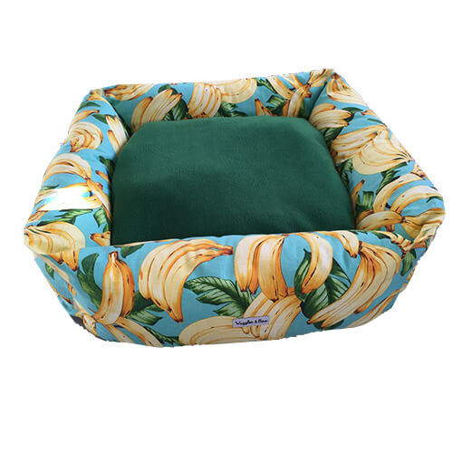 Going Bananas, Dog Bed, NZ Made, Bespoke, Petware