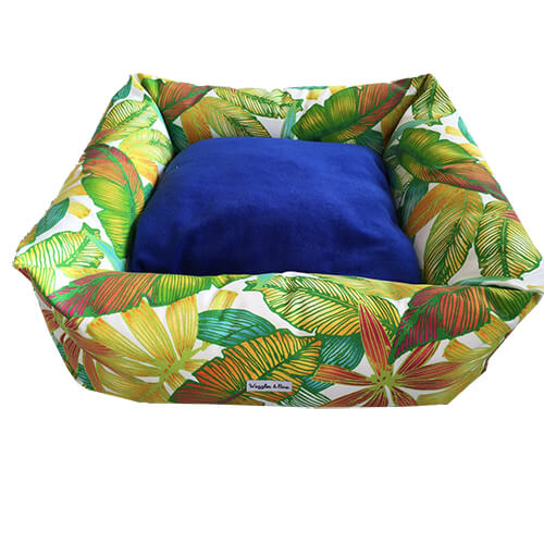 Tropical Heat, Dog Bed, NZ Made, Bespoke, Petware